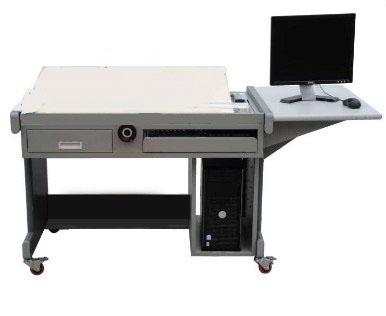 全钢结构多功能电脑绘图桌