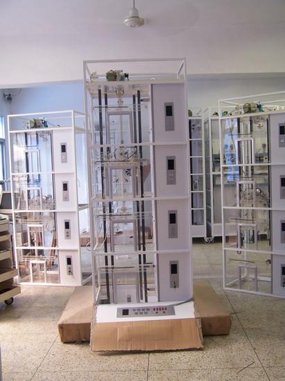 透明电梯演示装置