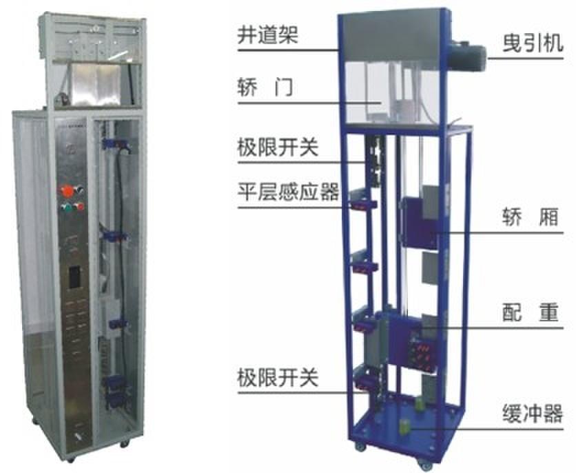 <strong>教学电梯电气线路实训考核装置</strong>