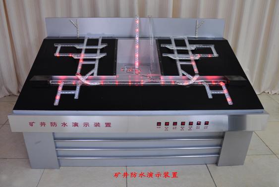 矿井防水系统演示模型