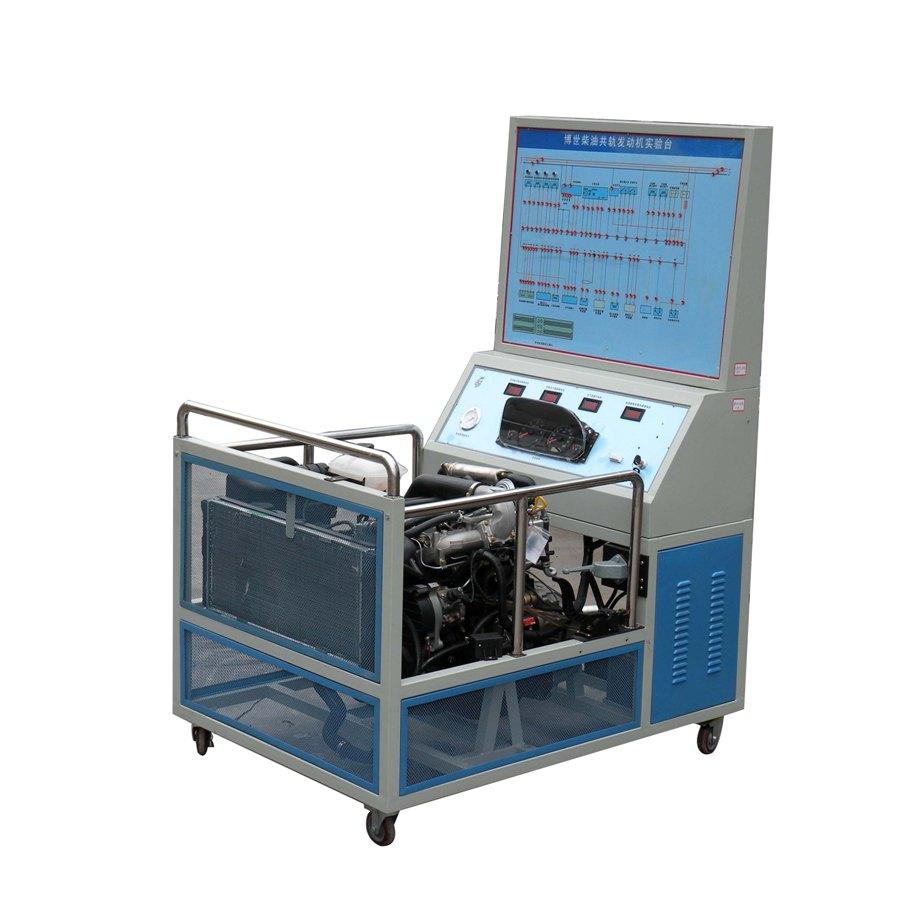 一、YUY-8007捷达电控汽油发动机运行实训台汽车发动机实训台产品简介 该设备采用电控汽油发动机总成及运行附件的固定台架和运行检测控制面板台架两部分组成。 发动机可进行起动、加速、减速等正常工况的实践操作,真实展示电控汽油发动机的组成结构和工作过程。 适用于中高等职业技术院校、普通教育类学院和培训机构对汽车发动机和维修实训的教学需要。 二.YUY-8007捷达电控汽油发动机运行实训台汽车发动机实训台功能特点 1.