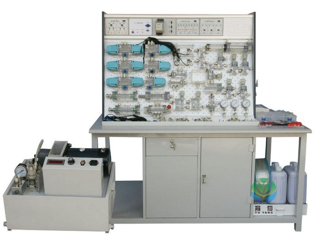 ypk-t插孔式铁桌液压plc控制实验台