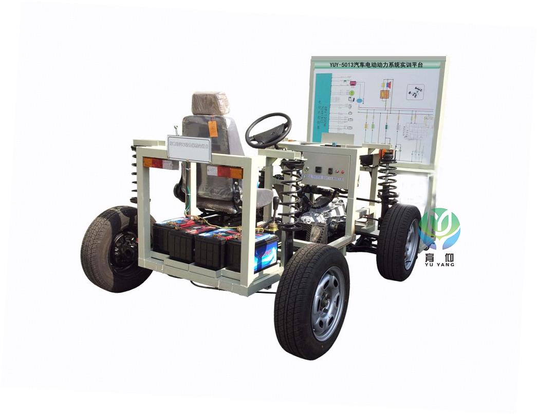 4通过操纵安装开关能真实观测纯电动汽车的启动,前行,后退,加速和充电