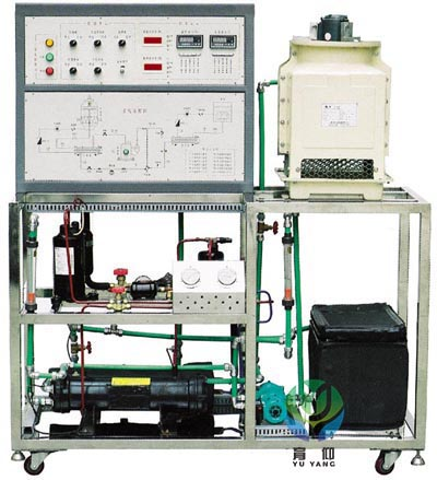 yuyjd55制冷压缩机性能测试实训装置