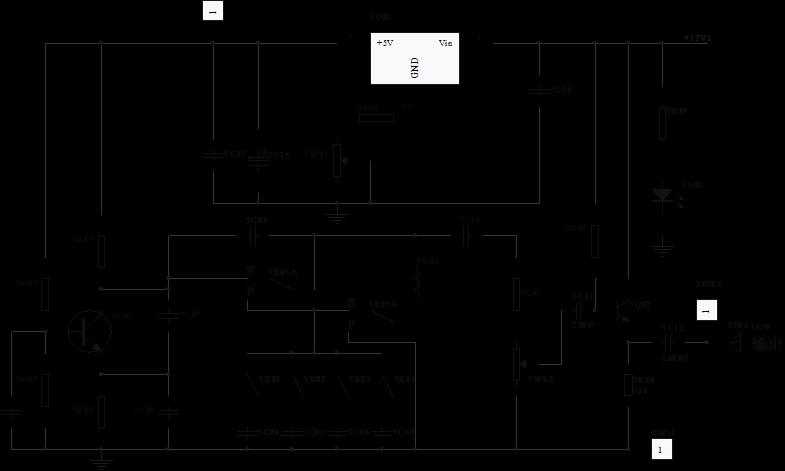 西勒振荡电路幅频特性的测量     示波器接3tp02,频率计接振荡器输出