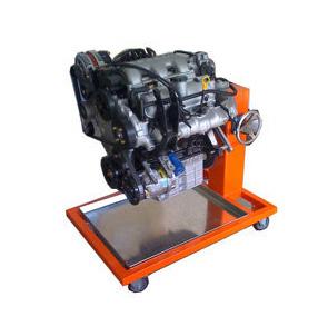 别克V6发动机安装展示