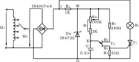 2,熟悉单结晶体管触发电路(阻容移相桥触发电路)的工作原理及调试