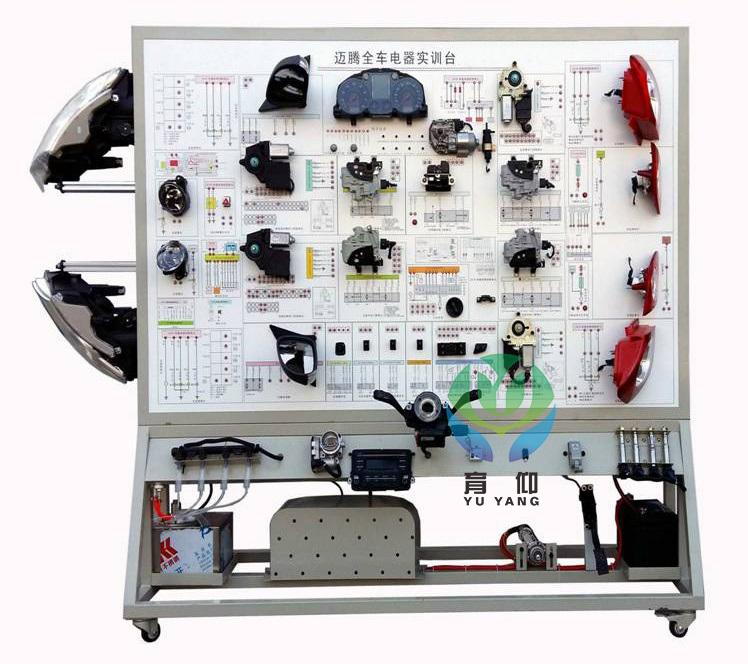 电动门锁,音响系统,起动系统和充电系统等汽车电器各系统的组成结构和