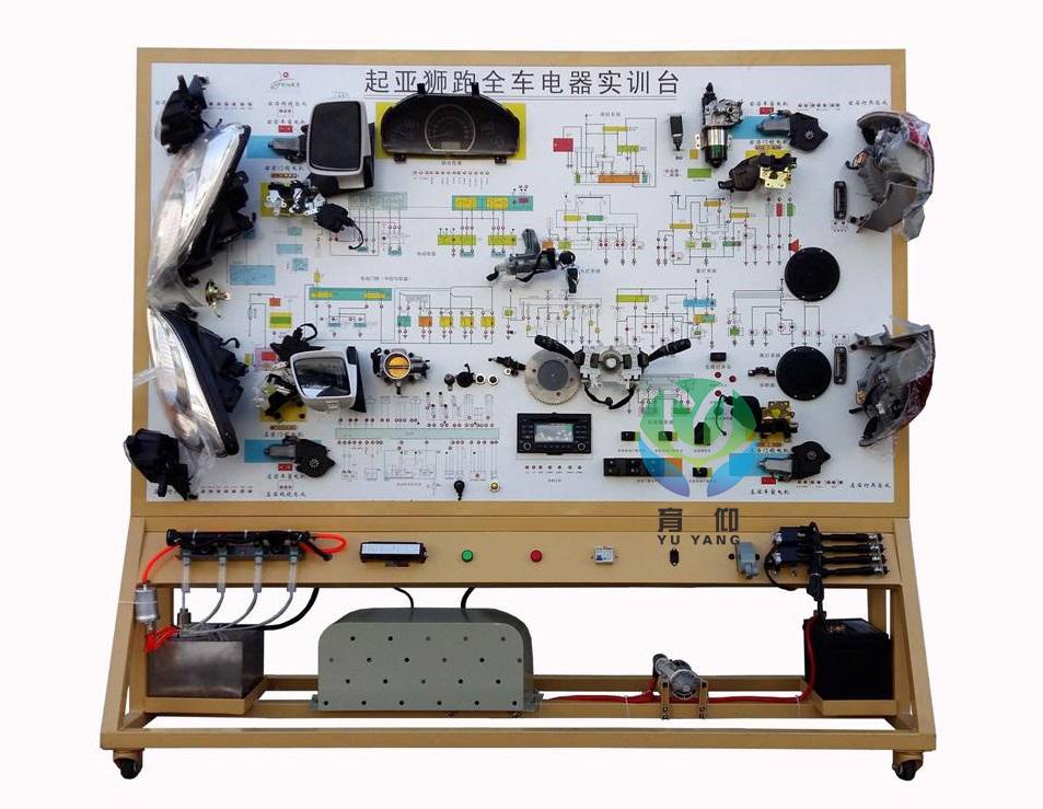 可直接在面板上检测汽车整车电器各系统电路元件的电信号,如电阻,电压