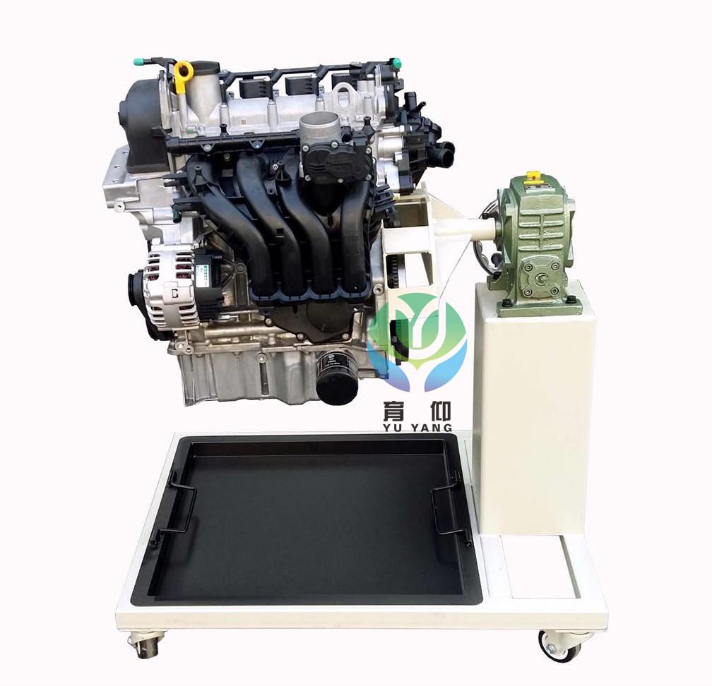 4t(新捷达)电控汽油发动机总成(易于拆装),组装在专用发动机拆装翻转