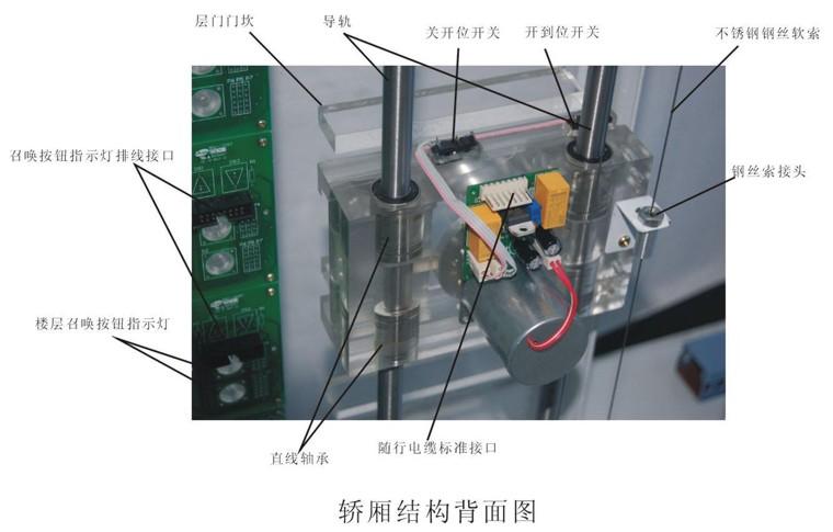 透明電梯教學模型