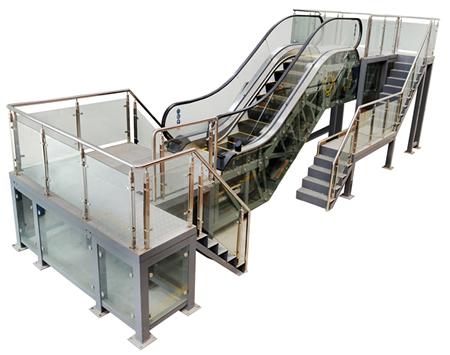 自动扶梯安装维修保养实训考核装置